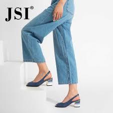 <b>JSI</b> New Arrival <b>Woman Genuine Leather</b> Buckle Strap Basic Classic ...