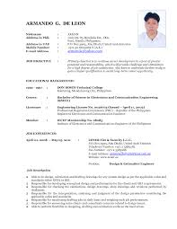 current resume examples resume format 2017 current