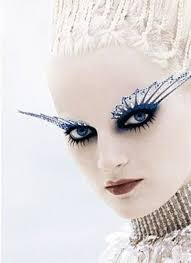 15 winter themed fantasy makeup looks ideas 2016