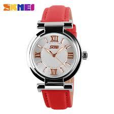 <b>SKMEI Simple Women</b> Quartz Watches Luxury Stainless Steel Strap ...