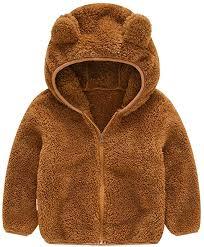 Tronet <b>Baby</b> Winter Coat <b>Toddler Kids Baby</b> Gril Boy Cute <b>Ear</b> Zipper ...