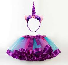 New Unicorn Party Dress <b>Girls</b> Kids Carnival Costume Children ...