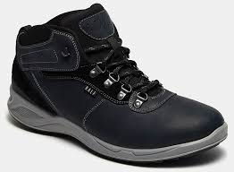 <b>Ботинки</b> мужские <b>FRAZIER</b> (цвет синий, натуральная кожа,спилок ...