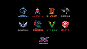 The XFL team name and logo reveal - YouTube