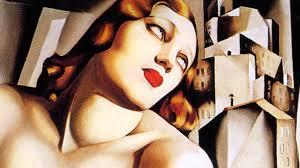 Image result for tamara de lempicka FEMALE