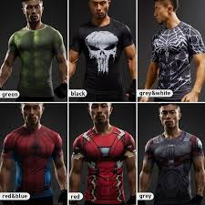 HULK <b>3D T Shirts</b> Avengers Compression Shirt <b>Men</b> Summer Short ...