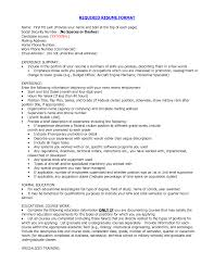 correct resume format getessay biz proper of resume required resume format by fhg83082 in correct resume