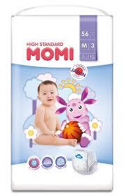 <b>Подгузники</b>-трусики <b>Momi High</b> Standard M (6-11кг), 56шт. - купить ...