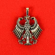 Ernst Licht Gold German <b>Eagle Pendant</b> - Ernst Licht