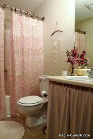 warm asian bathroom
