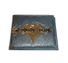 <b>Kingdom Hearts</b> Wallet Bifold Metal Logo Disney Video <b>Game</b> ...