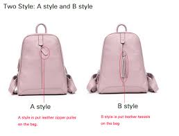 AODUX <b>100</b>% <b>Genuine Leather Women's</b> Backpack Top Layer Cow ...