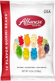 Albanese World's Best 12 Flavor Gummi Bears ... - Amazon.com
