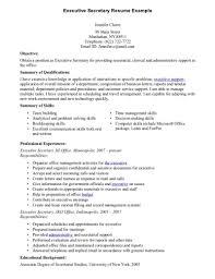executive secretary resume com executive secretary resume and get inspired to make your resume these ideas 17