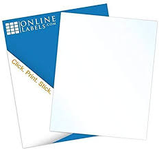 Waterproof Vinyl Sticker Paper - 8.5 x 11 Full Sheet ... - Amazon.com