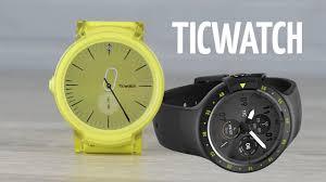 Обзор <b>TicWatch</b> Express и Sport. Смарт часы с GPS на Android ...