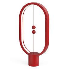 Светильник Allocacoc <b>Heng Balance Lamp</b> Ellipse, красный ...