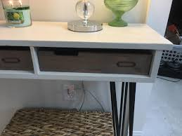 Rustic Gray <b>Wooden</b> Stackable Office <b>Desktop</b> Drawer-Style ...