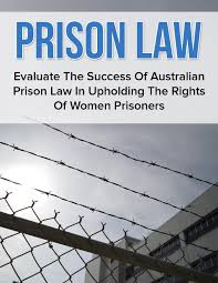 law study notes law audio notes prison law griffith university prison law