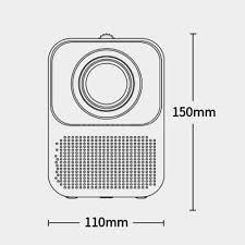 Xiaomi Youpin Wanbo <b>Projector T2 Free</b> 1080P 150ANSI <b>LCD</b> 40 ...