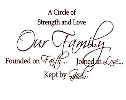 Quotes About Love Family And Strength - DesignCarrot.co via Relatably.com