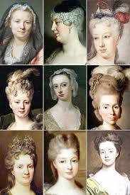th century hairstyles hair 18th century w s hairstyles a collection of the vine thimble
