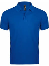 <b>Рубашка поло мужская PRIME</b> MEN 200 ярко-синяя