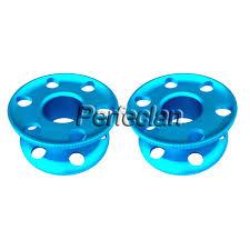 2 Pieces Small Blue <b>Aluminum Alloy</b> Scuba Diving <b>Finger</b> Reel ...