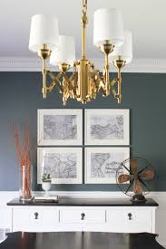 Inexpensive Chandeliers For Dining Room Dining Room Makeover Behind The Scenes The Process Erin Spain