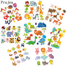 Prajna Cartoon <b>Dinosaur</b> Lion Heat Transfer <b>Iron On</b> Patches Kids ...