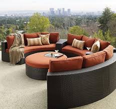 image of rounded outdoor balcony furniture black outdoor balcony furniture