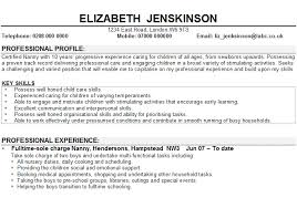 the essentials of a nanny    s resume   care cornerthe essentials of a nanny    s resume
