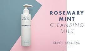 Rosemary <b>Mint Cleansing</b> Milk: Refresh Tired <b>Skin</b> – Renée ...