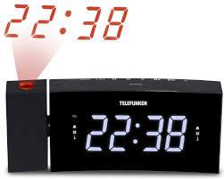 Часы с <b>радио Telefunken TF-1568U</b> черный/белый