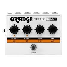 <b>Педаль эффекта</b> гибридного усилителя <b>Orange</b> Terror Stamp ...