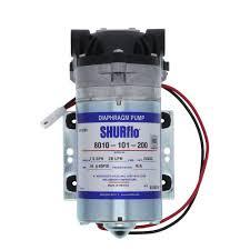SHURflo 8010-101-200 <b>RO</b> Booster Pump <b>50 GPD</b> 80 PSI <b>24V</b> ...