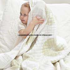 China 4ply <b>Cotton Muslin</b> Blanket, <b>Newborn</b> Blanket, <b>Baby Blanket</b> ...