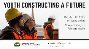 careers in construction vancouver island construction association youth constructing a future