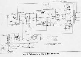 hi fi amplifier schematics c 1954 preservation sound the