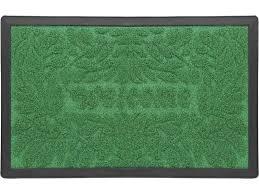 <b>Коврик</b> придверный <b>Vortex</b> Grass зеленый <b>60х90 см</b> купить по ...