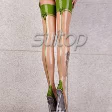Promo Offer Suitop 100% <b>latex</b> rubber <b>handmade</b> stocking ...