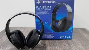 ОБЗОР <b>ГАРНИТУРЫ PlayStation 4</b> Platinum Wireless <b>Headset</b> ...
