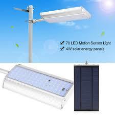 Streetlight <b>Road</b> 70led panel with Solar photovoltaics motion sensor ...
