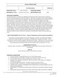 best photos of executive chef job description executive chef job restaurant job description templates