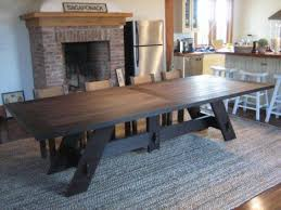 dining table that seats 10:  ideas about large dining tables on pinterest industrial style dining tables and ping pong table