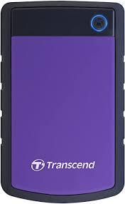 4TB Transcend StoreJet 25H3 <b>2.5</b>-<b>inch USB3.0 Portable</b> Hard Drive