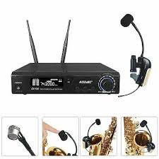 <b>Professional Wireless Microphone Mic</b> System UHF for Saxophone ...