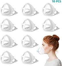 <b>3D</b> Face <b>Inner</b> Bracket, 10PCS <b>Face Mask Inner</b> Support Frame ...