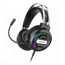 <b>Lenovo h401 gaming</b> headset over-ear 3.5mm usb 7.1 surround ...
