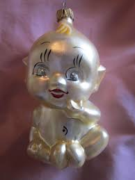 Radko Heritage Kewpie Ornament 1994 Seated Baby Christmas ...